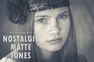 Nostalgic Matte Tones - LR presets