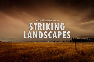 Striking Landscapes - LR presets