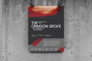 Crimson Concert - Flyer / Poster