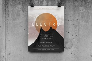 Geometric Concert - Flyer / Poster