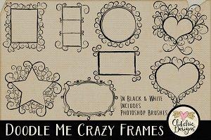Doodle Me Crazy Frames & Brushes