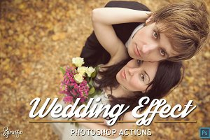 100 Wedding Photoshop Actions Ver.1