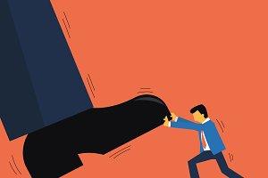 Challenging entrepreneur
