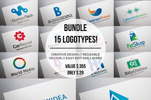 Bundle 15 Logotypes