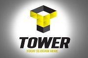 Tower Logo Design Template