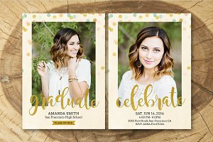 Senior Graduation Announcement 004