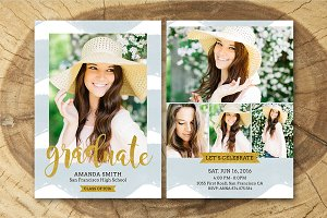 Senior Graduation Announcement 005
