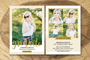 Senior Graduation Announcement 006