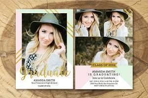 Senior Graduation Announcement 008