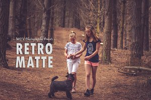 Retro Matte - Lightroom presets