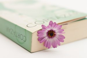 Flower and book #4