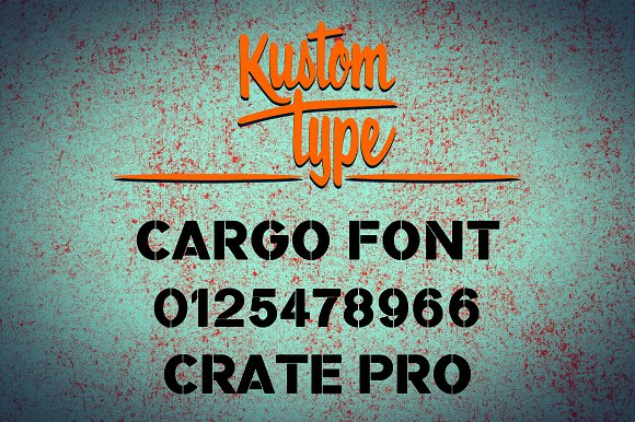 Crate Pro Rounded Stencil in Blackletter Fonts - product preview 1