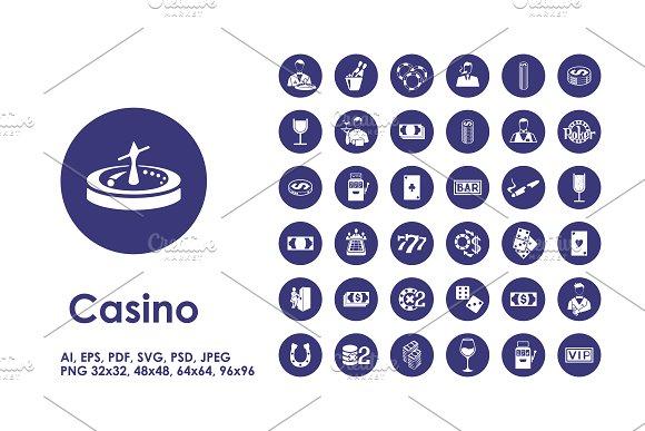 9 casino infographics + BONUS in Presentation Templates - product preview 1