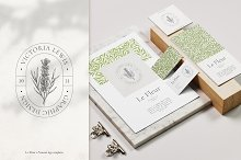Le Fleur - Premade logo templates by  in Templates