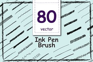 Ink Pen Brush