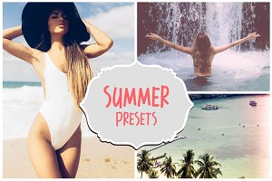 50 Summer Presets Collection Set