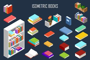 Vector isometric books