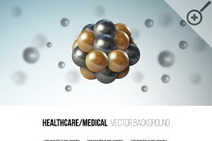 Healthcare/medical vector background