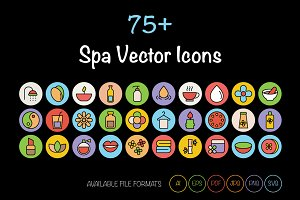 75+ SPA Vector Icons