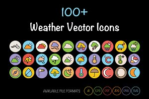 100+ Weather Vector Icons
