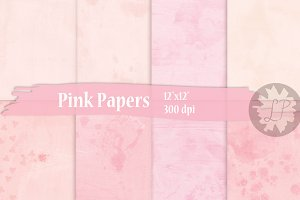 Delicate Pink Papers