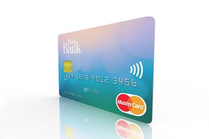 Credit Card Mockup (4700 x 3500 px)