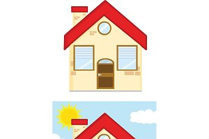 Houses Cartoon Characters