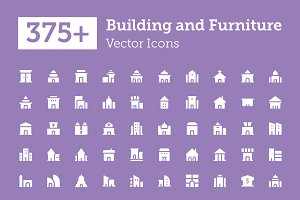 375+ Building and Furniture Icons