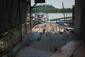 Dilapidated Dock