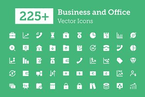 225+ Business and Office Icons