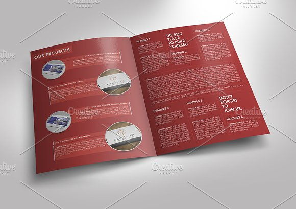 Simple And Clean Brochure Template Brochure Templates Creative - Simple brochure templates