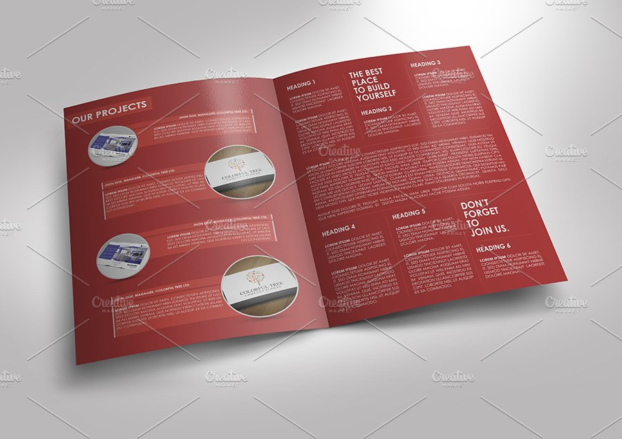 Simple And Clean Brochure Template Brochure Templates Creative