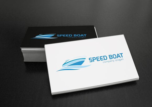 Speed Boat in Logo Templates - product preview 1