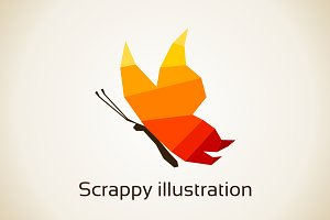 Scrappy illustration