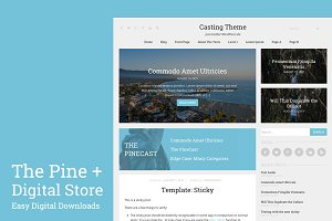 The Pine | WordPress Theme + Store