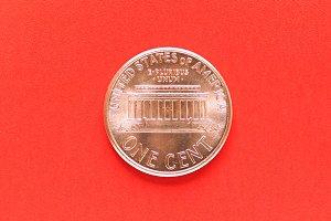 Dollar coin - 1 cent