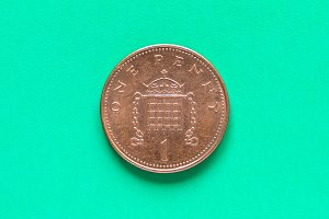 GBP Pound coin - 1 Penny