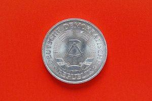 German DDR coin