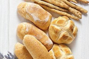 fresh homemade Italian bread