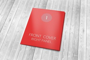 Tri-fold Brochure Mockup — 50%off