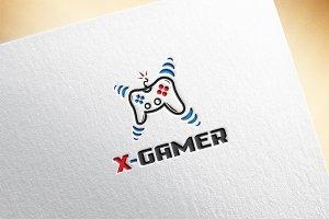 X - Gamer / Letter X Logo Template
