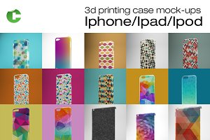 Iphone/Ipad/Ipod cases mock-up