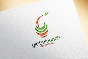 Globalaunch Logo Template