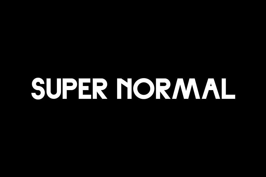 Best Super Normal — Sans Vector