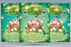 Easter Weekend Flyer
