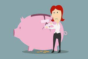 Money savings and financial safety