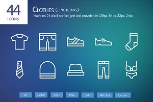 44 Clothes Line Icons