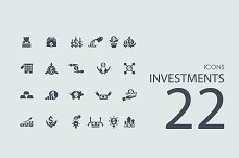 22 Investments icons
