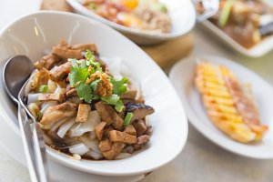 Stir soy food Thailand