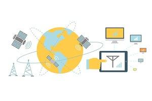 Satellite Global Network Provider